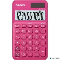 """Zsebszámológép, 10 számjegy, CASIO """"SL 310"""", rózsaszín"""