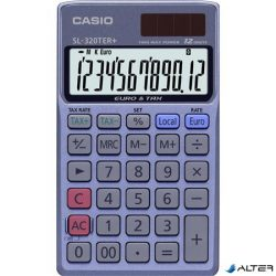 """Zsebszámológép, 12 számjegy, CASIO """"SL 320 TER+"""""""
