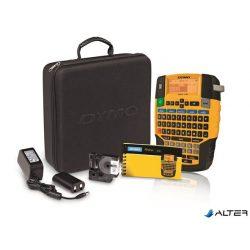"""Elektromos feliratozógép, DYMO """"Rhino 4200"""" készlet táskában"""
