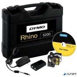 """Elektromos feliratozógép, DYMO """"Rhino 5200"""" készlet táskában"""