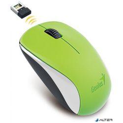 """Egér, vezeték nélküli, optikai, normál méret, GENIUS """"NX-7000"""" zöld"""