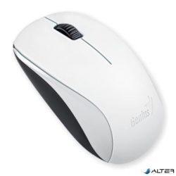 """Egér, vezeték nélküli, optikai, normál méret, GENIUS """"NX-7000"""" fehér"""