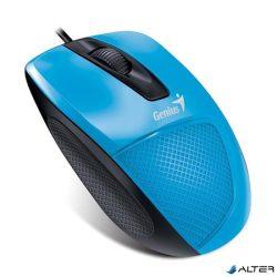 """Egér, vezetékes, optikai, normál méret, USB, GENIUS """"DX-150X"""", kék"""