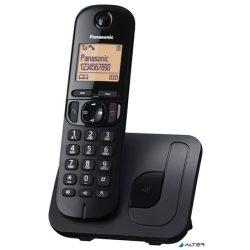 """Telefon, vezeték nélküli, PANASONIC, """"KX-TGC210PDB DECT"""", fekete"""