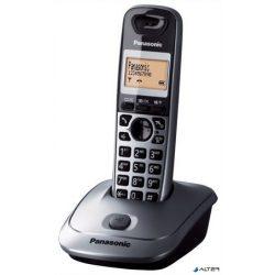 """Telefon, vezeték nélküli, PANASONIC """"KX-TG2511HGM"""", szürke"""