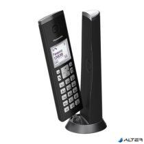 """Telefon, vezeték nélküli, PANASONIC, """"KX-TGK210PDB DECT"""", fekete"""