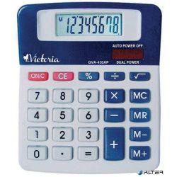 """Számológép, asztali, 8 számjegy, VICTORIA """"GVA-430AP"""""""