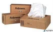 Hulladékgyűjtő zsák iratmegsemmisítőhöz, 34 literes kapacitásig, FELLOWES