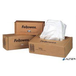 Hulladékgyűjtő zsák iratmegsemmisítőhöz, 53-75 literes kapacitásig, FELLOWES