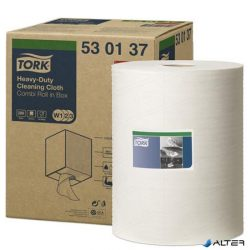 """Törlőkendő, oldószeres tisztításhoz, TORK """"Premium Multipurpose Cloth 530"""", fehér"""