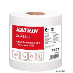 """Kéztörlő, tekercses, 2 rétegű, KATRIN, fehér, """"CLASSIC M2"""""""