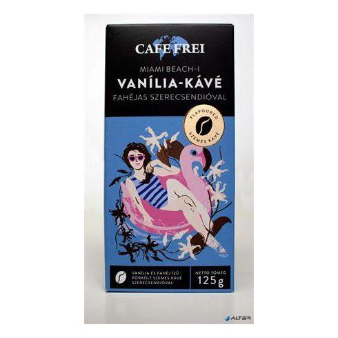 """Kávé, pörkölt, szemes, 125 g, CAFE FREI """"Miami vanília"""" fahéjjal és szerecsendióval"""