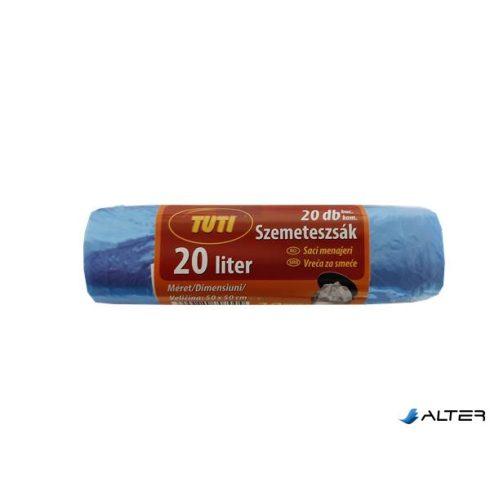 """Szemeteszsák, 20 l, 20 db, """"Tuti"""""""