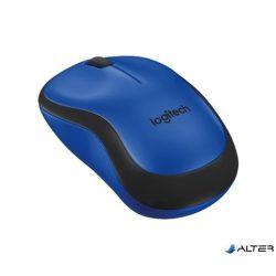 """Egér, vezeték nélküli, optikai, USB, LOGITECH, """"M220 Silent"""", kék"""
