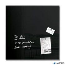 """Mágneses üvegtábla, 48x48 cm, SIGEL """"Artverum® """", fekete"""