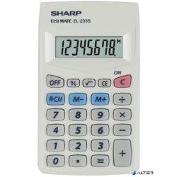 """Zsebszámológép, 8 számjegy, SHARP """"EL-233S"""""""