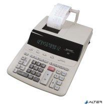 """Számológép, szalagos, 12 számjegy, 2 színű nyomtató, SHARP """"CS-2635RHGYSE"""""""