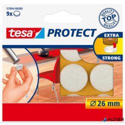 """Filckorong, karcolásgátló, 26 mm, TESA """"Protect®"""", fehér"""