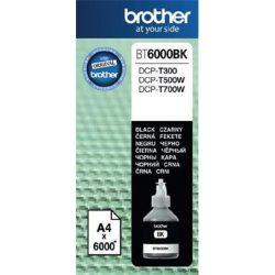 BT6000BK Tintapatron DCP T-300, 500W, 700W nyomtatókhoz, BROTHER fekete, 6K