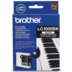 LC1000B Tintapatron DCP 330C, 540CN, 240C nyomtatókhoz, BROTHER fekete, 500 oldal