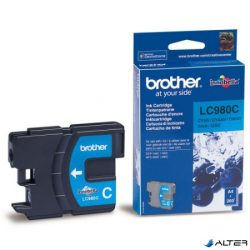 LC980C Tintapatron DCP 145C, 165C, MFC 250C nyomtatókhoz, BROTHER kék, 260 oldal