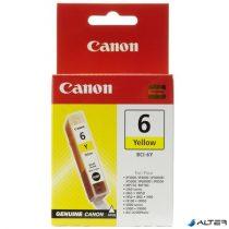 BCI-6Y Tintapatron BJC-8200 Photo, i560 nyomtatókhoz, CANON sárga, 13ml