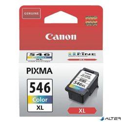 CL-546XL Tintapatron Pixma MG2450, MG2550 nyomtatókhoz, CANON színes, 300 oldal