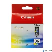 CLI-36 Tintapatron 260 nyomtatóhoz, CANON színes, 249 oldal