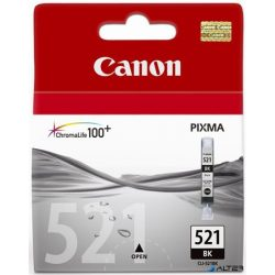 CLI-521B Tintapatron Pixma iP3600, 4600, MP540 nyomtatókhoz, CANON fekete, 9ml