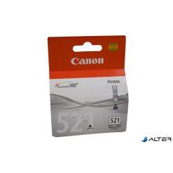 CLI-521GY Tintapatron Pixma MP980 nyomtatóhoz, CANON szürke, 1 395 oldal