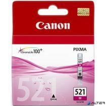 CLI-521M Tintapatron Pixma iP3600, 4600, MP540 nyomtatókhoz, CANON vörös, 9ml