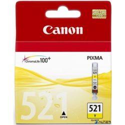 CLI-521Y Tintapatron Pixma iP3600, 4600, MP540 nyomtatókhoz, CANON sárga, 9ml