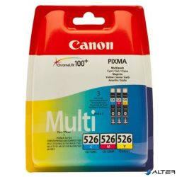 CLI-526KIT Tintapatron multipack Pixma iP4850, MG5150, 5250 nyomtatókhoz, CANON c+m+y