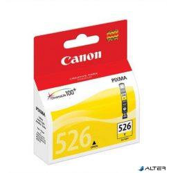 CLI-526Y Tintapatron Pixma iP4850, MG5150, 5250 nyomtatókhoz, CANON sárga, 545 oldal