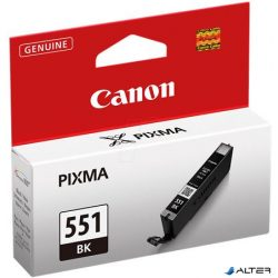 CLI-551B Fotópatron Pixma iP7250, MG5450 nyomtatókhoz, CANON fekete, 7ml