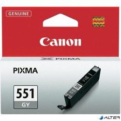 CLI-551GY Tintapatron Pixma MG6350 nyomtatóhoz, CANON szürke, 780 oldal