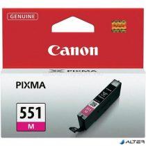 CLI-551M Tintapatron Pixma iP7250, MG5450 nyomtatókhoz, CANON vörös, 7ml