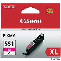 CLI-551MXL Tintapatron Pixma iP7250, MG5450, MG6350 nyomtatókhoz, CANON vörös, 11ml