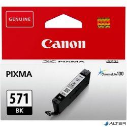 CLI-571B Fotópatron Pixma MG5750, 6850,7750 nyomtatókhoz, CANON fekete, 7 ml