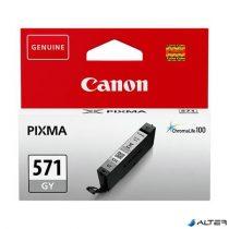 CLI-571G Tintapatron Pixma MG5750, 6850, 7750 nyomtatókhoz, CANON szürke, 7ml