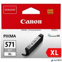 CLI-571GXL Tintapatron Pixma MG5750, 6850, 7750 nyomtatókhoz, CANON szürke, 11ml