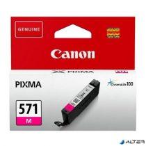 CLI-571M Tintapatron Pixma MG5750, 6850,7750 nyomtatókhoz, CANON vörös, 7 ml