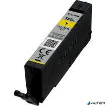CLI-581YXL Tintapatron Pixma TS7550, 8150, 9150 nyomtatókhoz, CANON, sárga, 8,3ml