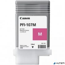 PFI-107M Tintapatron iPF780, 770 nyomtatóhoz, CANON vörös, 130ml
