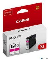 PGI-1500MXL Tintapatron Maxify MB2350 nyomtatókhoz, CANON vörös, 12 ml