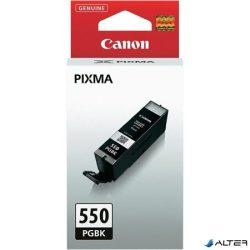 PGI-550PGB Tintapatron Pixma iP7250, MG5450, 6350 nyomtatókhoz, CANON fekete, 15ml