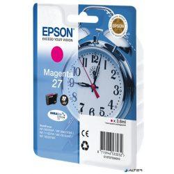 T27034010 Tintapatron Workforce 3620DWF,7110DTW sorozat nyomtatókhoz, EPSON vörös, 3,6 ml