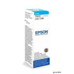 T66424A10 Tintapatron L100, 200mfp nyomtatókhoz, EPSON kék, 70ml
