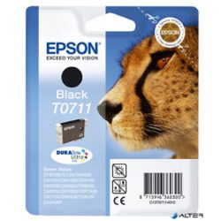 T07114011 Tintapatron Stylus D78, D92, D120 nyomtatókhoz, EPSON fekete, 7,4ml