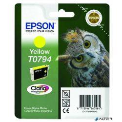 T07944010 Tintapatron StylusPhoto 1400 nyomtatóhoz, EPSON sárga, 11ml